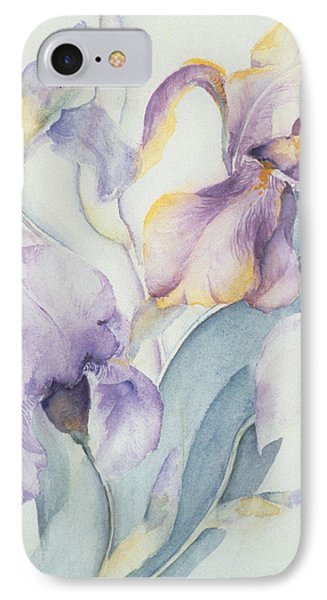 Iris IPhone Case by Karen Armitage
