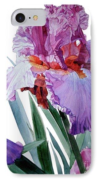 Iris Luciano Pavarotti IPhone Case by Greta Corens