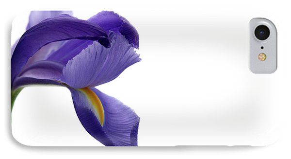 IPhone Case featuring the photograph Iris by Marie Leslie