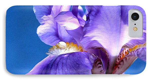 Iris Princess IPhone Case by Krissy Katsimbras