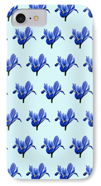 IPhone Case featuring the photograph Iris Recticulata-2 by Paul Gulliver