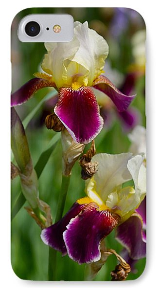 Iris Spring Phone Case by Karon Melillo DeVega
