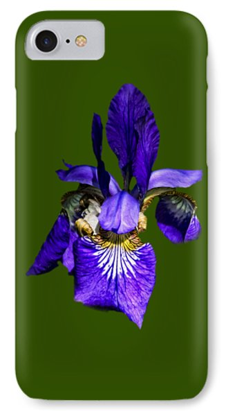 IPhone 7 Case featuring the photograph Iris Versicolor by Mark Myhaver