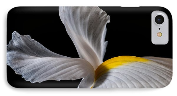 IPhone Case featuring the photograph Iris Wings by Art Barker