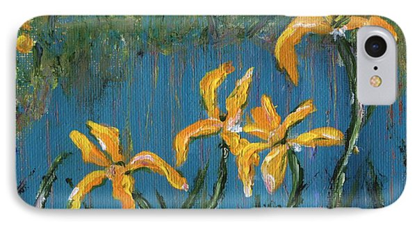 IPhone Case featuring the painting Irises by Jamie Frier