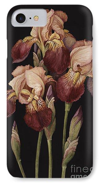 Irises Phone Case by Jenny Barron