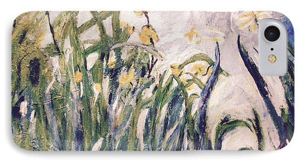 IPhone Case featuring the painting Irises Revisited by Cynthia Morgan