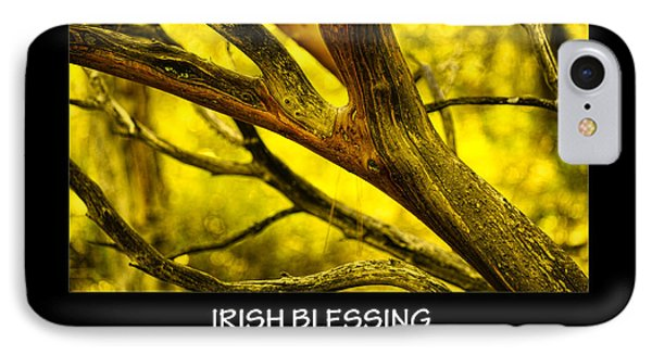 Irish Blessing IPhone Case by Bonnie Bruno