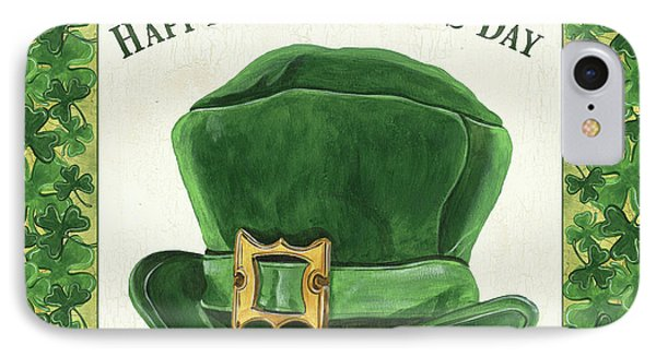 Irish Cap IPhone Case by Debbie DeWitt