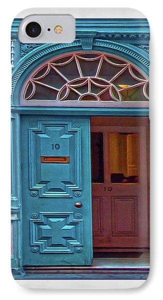 IPhone Case featuring the digital art Irish Door by Hanny Heim
