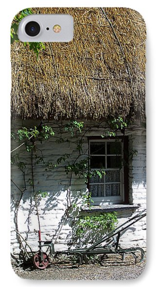 Irish Farm Cottage Window County Cork Ireland Phone Case by Teresa Mucha