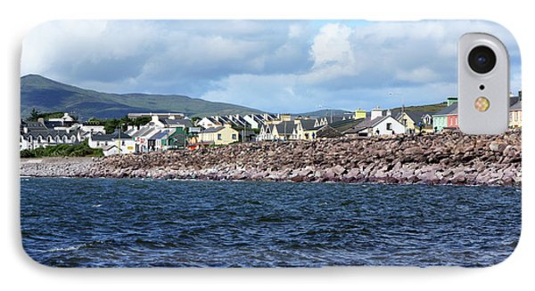 Irish Seaside Village - Co Kerry  IPhone Case by Aidan Moran