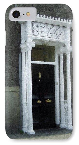Irish Solicitors Door Phone Case by Teresa Mucha