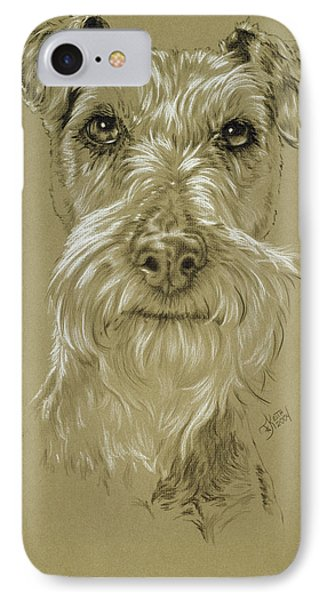 Irish Terrier IPhone Case by Barbara Keith