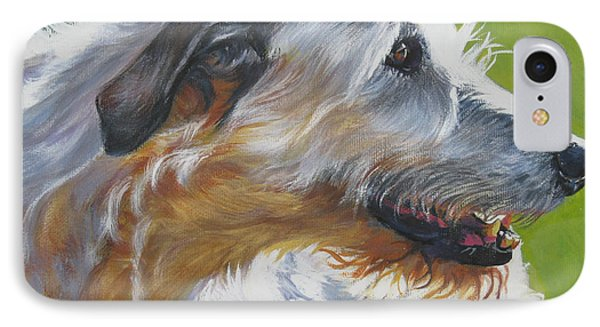 Irish Wolfhound Beauty Phone Case by Lee Ann Shepard