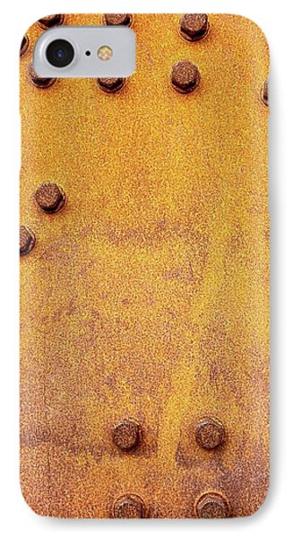 Iron And Rust IPhone Case by Russell Keating