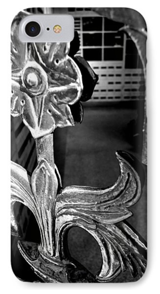 Iron Flower IPhone Case by Jera Sky