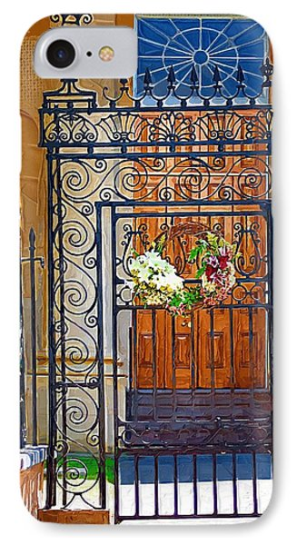IPhone Case featuring the photograph Iron Gate by Donna Bentley
