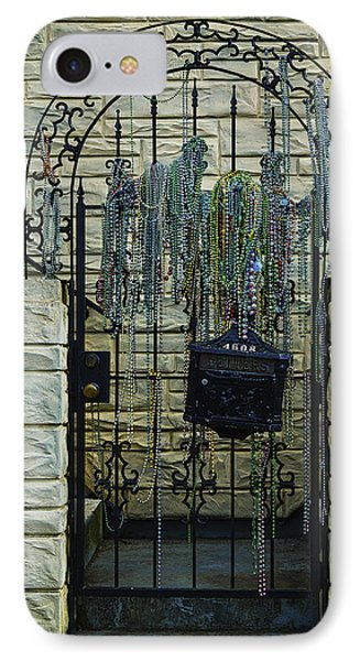 Iron Gate With Colorful Beads IPhone Case