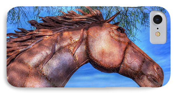 IPhone Case featuring the photograph Iron Horse by Paul Wear