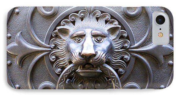 Iron Lion IPhone Case by Rob Tullis