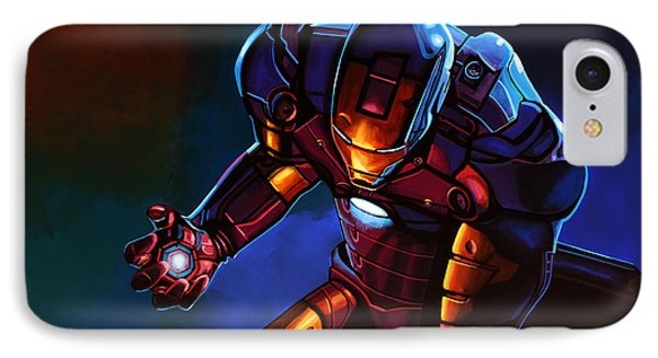 Iron Man Phone Case by Paul Meijering