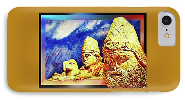 IPhone Case featuring the painting Irreplaceable   Ancient  Glory by Hartmut Jager
