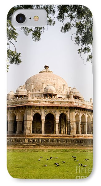 Isa Khan Tomb Burial Sites IPhone Case by Bill Bachmann - Printscapes