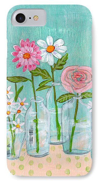 Isabella Rose Flowers IPhone Case by Blenda Studio