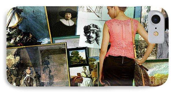 Isabella Stewart Gardner, Art Theft Gallery IPhone Case