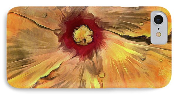 IPhone Case featuring the mixed media Isabella by Trish Tritz