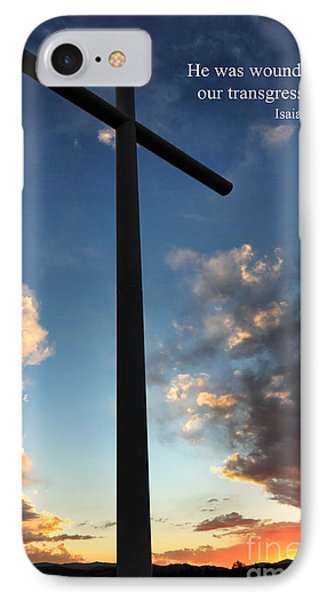 Isaiah 53-5 IPhone Case
