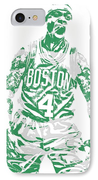 Isaiah Thomas Boston Celtics Pixel Art 16 IPhone Case