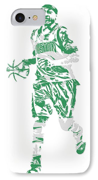 Isaiah Thomas Boston Celtics Pixel Art 17 IPhone Case