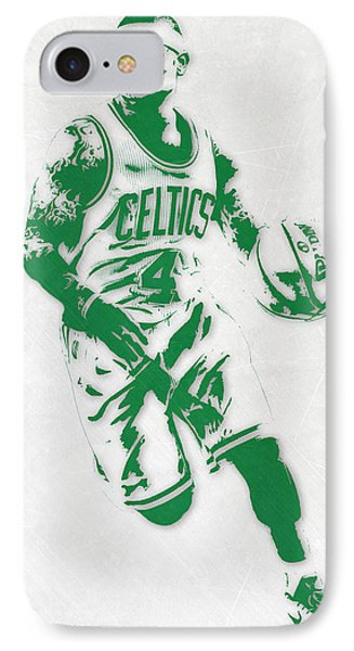 Isaiah Thomas Boston Celtics Pixel Art 2 IPhone Case