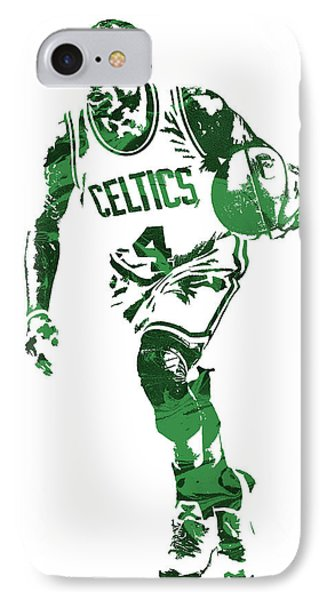 Isaiah Thomas Boston Celtics Pixel Art 4 IPhone Case