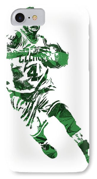 Isaiah Thomas Boston Celtics Pixel Art 5 IPhone Case