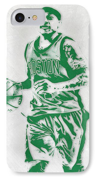Isaiah Thomas Boston Celtics Pixel Art IPhone Case