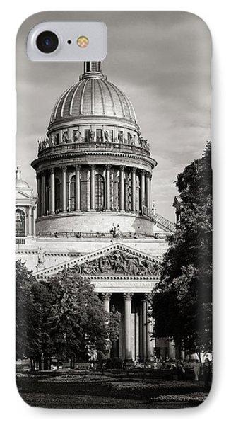 Isakievsky Cathedral Phone Case by Konstantin Dikovsky
