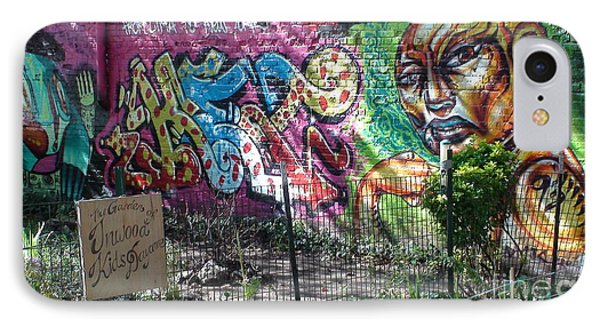 IPhone Case featuring the photograph Isham Park Graffiti  by Cole Thompson