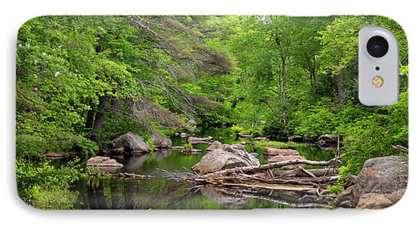 Isinglass River, Barrington, Nh IPhone Case by Betty Denise