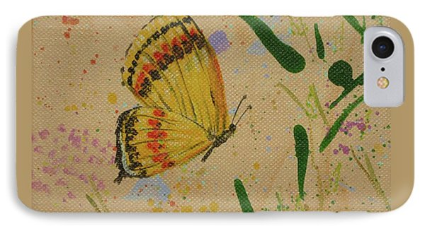 Island Butterfly Series 1 Of 6 IPhone Case by Gail Kent