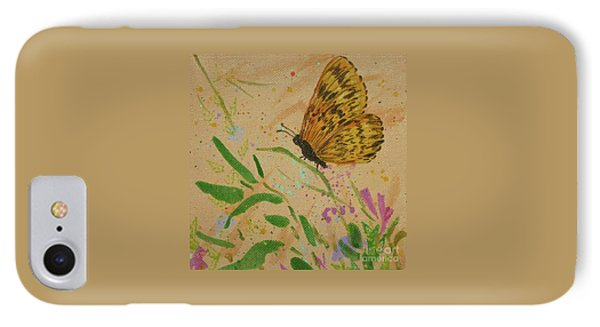 Island Butterfly Series 4 Of 6 IPhone Case by Gail Kent