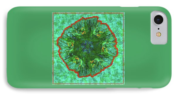 Island Fractal Bloom IPhone Case by Diane Parnell