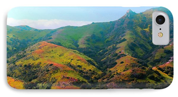 Island Hills IPhone Case by Timothy Bulone