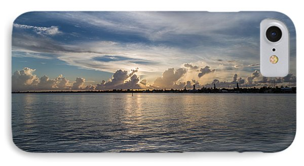 Island Horizon IPhone Case by Christopher L Thomley