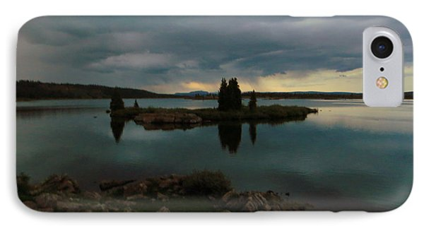 Island In The Storm IPhone 7 Case by Karen Shackles