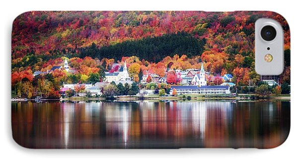 Island Pond Vermont IPhone Case by Sherman Perry