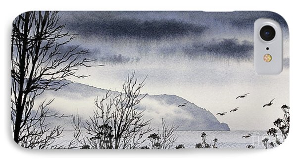 IPhone Case featuring the painting Island Solitude by James Williamson