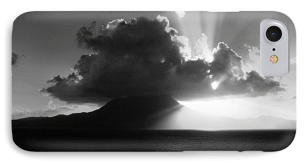 Island Sunrise 2  Phone Case by Perry Webster